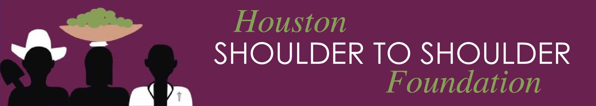 Houston Shoulder to Shoulder Foundation Logo